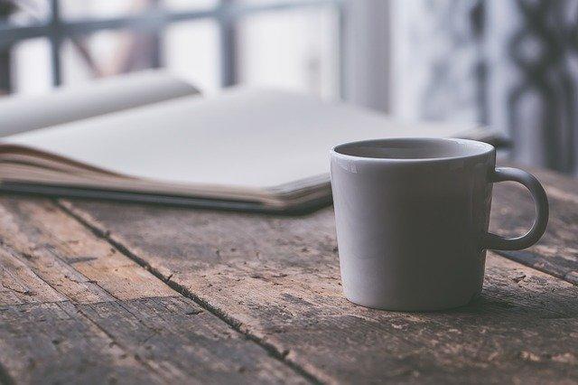 コーヒーとテキスト